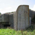 Von Zwangsarbeitern erbauter Bunker der Wehrwacht auf der Kanalinsel Alderney