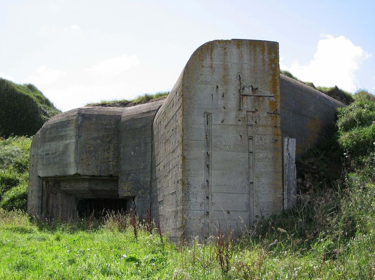 Bunker der Wehrwacht auf der Kanalinsel Alderney