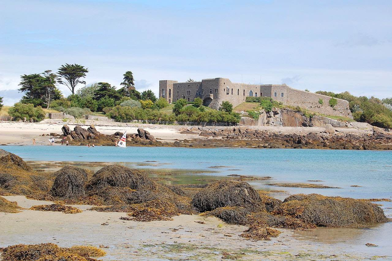 Chausey - auch eine Kanalinsel, die allerdings zu Frankreich gehört
