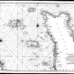 Historische Karte der Kanalinseln (1753)