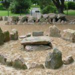 Dolmen und Steinkiste in La Ville ès Nouaux auf Jersey