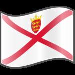 Flagge der Kanalinsel Jersey
