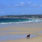 Strand im Süden von Jersey bei St. Ouen