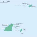 Guernsey und seine Nachbarinseln