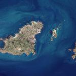 Guernsey, Sark und Herm - Satellitenbild