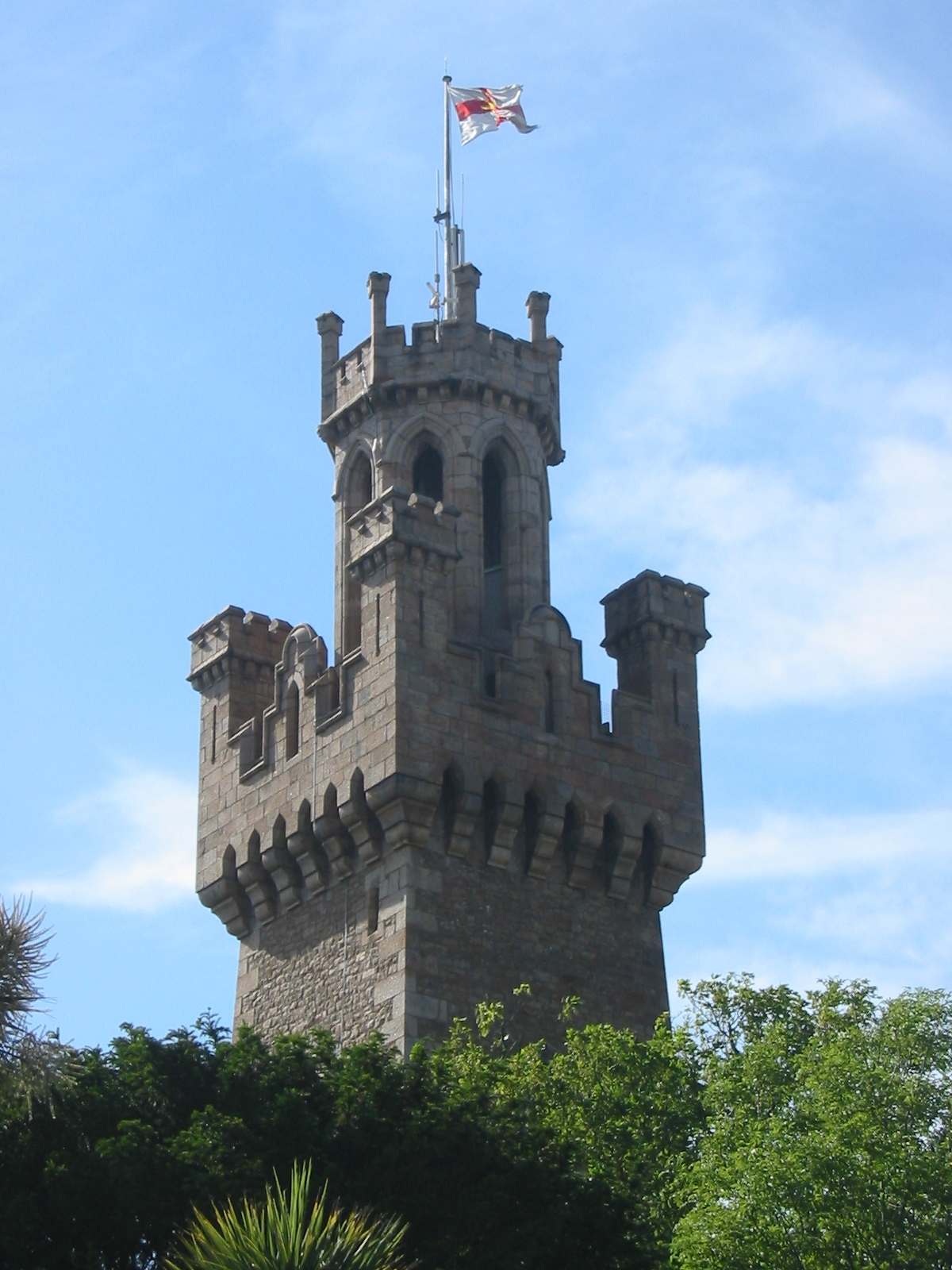 Guernsey - Victoria Tower in Saint Peter Port