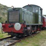 Alderney besitzt die einzige Eisenbahn der Kanalinseln