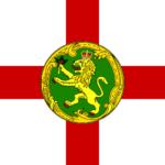 Alderney - Flagge von Alderney