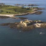 Alderney - Fort Houmet Herbé vor der Nordostküste