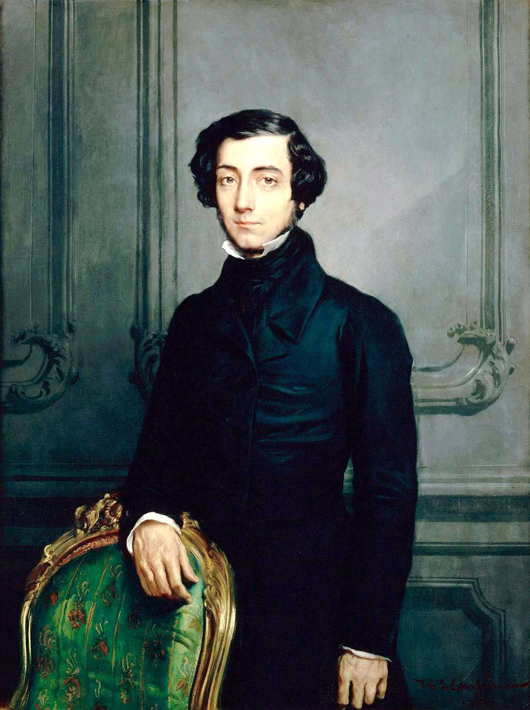 Einer der berühmesten Söhne der Halbinsel Cotentin: Alexis de Tocqueville