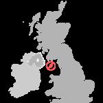 Karte der Kronbesitzungen der britischen Krone
