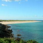 Der Shell Beach auf der Insel Herm