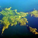 Die Kanalinsel Sark aus der Vogelperspektive
