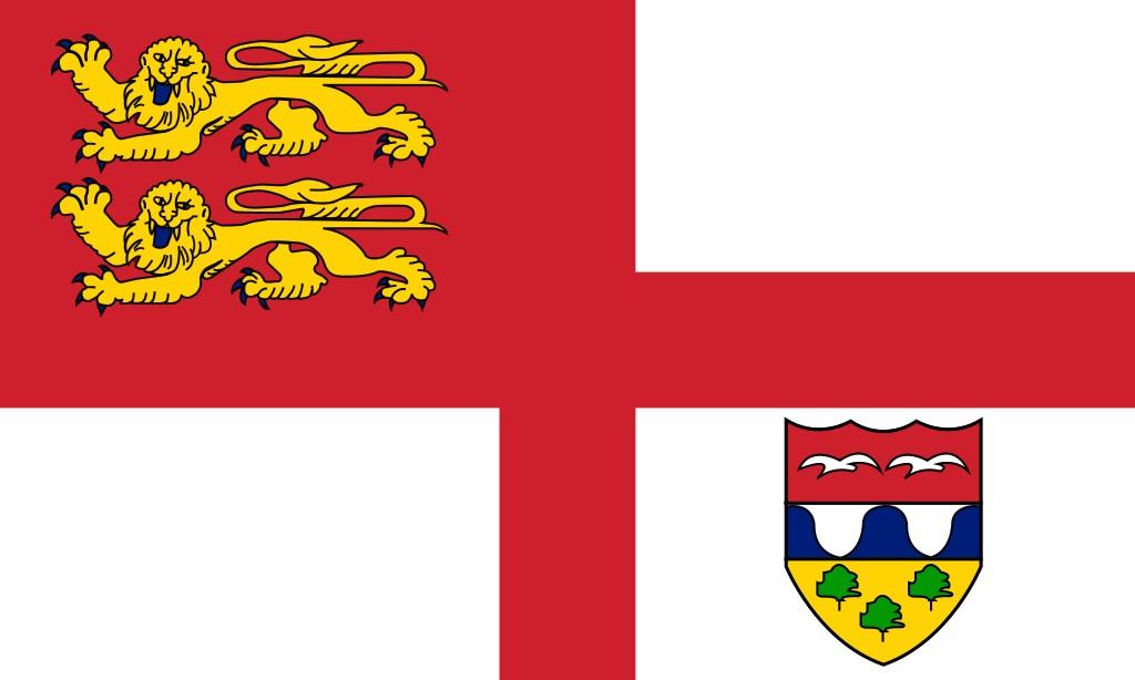 Die Flagge von Brecqhou