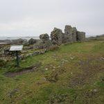 Die Ruinen der alten kleinen Klosteranlage auf Lihou