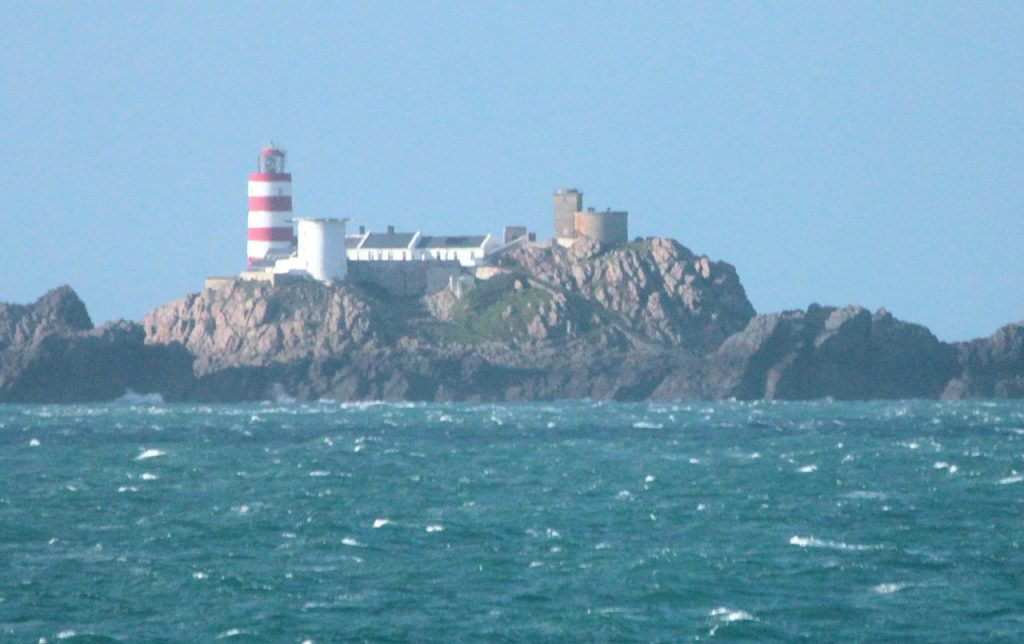 Leuchtturm auf Les Casquets vor Alderney